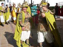 Andalusian Village Festival Stock Photography