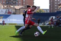 José Alonso UCAM Murcia C f und AlmerÃa B lizenzfreies stockfoto