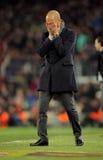 José Guardiola de FC Barcelona foto de archivo libre de regalías