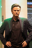 José Mourinho. Wax statue at Madame Tussauds in London stock photography