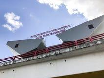 Jos Marti Airport - La Havane, Cuba Photographie stock libre de droits