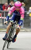 José Rodolfo Serpa Team Lampre - Merida Royalty Free Stock Photo