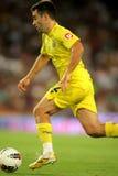 José Rossi de los CF de Villarreal Imagenes de archivo