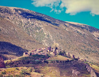 Josa de Cadi in comarca of Alt Urgell,  Catalonia, Spain. Royalty Free Stock Images
