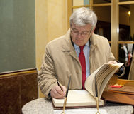 Joschka Fischer Photo stock