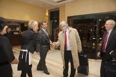 Joschka Fischer ist ein deutscher Politiker Lizenzfreies Stockfoto