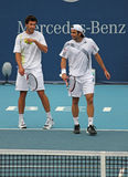 Jose Acasuso (ARG) and Fernando Gonzalez (CHILE) Stock Photo