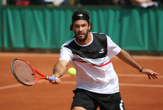 Jose ACASUSO (ARG) at Roland Garros 2010 Royalty Free Stock Photography