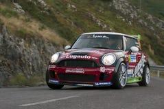 Jose Alonso Mini Rally Πρίντσιπε αστουρίες Στοκ Εικόνες