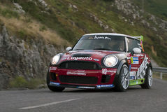 Jose Alonso Mini Rally Principe Asturias Stock Images