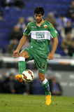 Jose Angel Alonso d'Elche CF Photos libres de droits