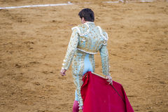 Jose Antonio Canales Rivera is a well-known Spanish bullfighter. Royalty Free Stock Image