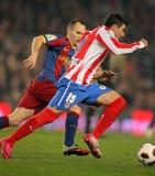 Jose Antonio Reyes of Atletico Madrid Royalty Free Stock Images