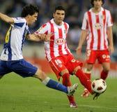 Jose Antonio Reyes of Atletico Madrid Stock Photo