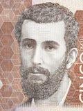 Jose Asuncion Silva portrait Royalty Free Stock Photo