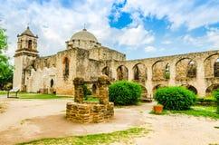 jose beskickning san i San Antonio Texas arkivfoton
