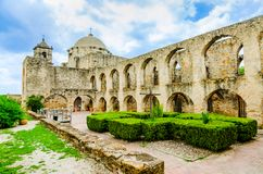 jose beskickning san i San Antonio Texas royaltyfri bild