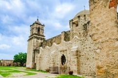 jose beskickning san i San Antonio Texas fotografering för bildbyråer