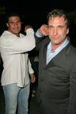 Jose Canseco, Daniel Baldwin, Tina Jordan royalty-vrije stock fotografie