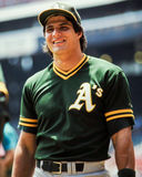 Jose Canseco, Oakland A's Stock Afbeelding