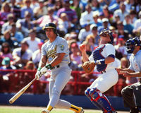 Jose Canseco, Oakland A's Royalty-vrije Stock Afbeeldingen