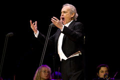 Jose Carreras in Zagreb Stock Photography