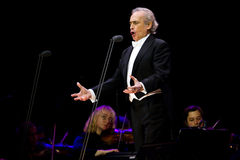 Jose Carreras in Zagreb Stock Image