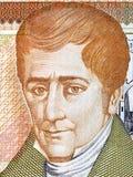 Jose Cecilio del Valle portrait Royalty Free Stock Images