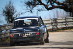 Jose Cunha drives a BMW 2002 Royalty Free Stock Images