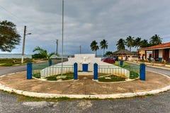 Jose de Marti - Puerto de Esperanza. Monument to Jose de Marti in Puerto de Esperanza, Cuba Stock Images