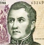 Jose de San Martin royaltyfri foto