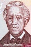 Jose Dolores Estrada portrait Stock Photos