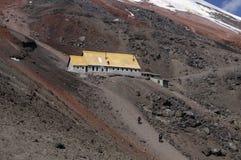 Free Jose F. Rivas Refuge To The Cotopaxi. Ecuador Stock Image - 13754141