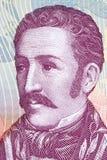 Jose Felix Ribas-portret royalty-vrije stock afbeeldingen