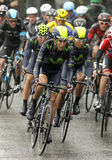 Jose Herrada of  Movistar Team Royalty Free Stock Photo