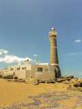 Jose Ignacio Lighthouse and the Beach Royalty Free Stock Images