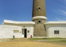 Jose Ignacio Lighthouse Facade royaltyfria foton