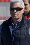 Jose Luis Alonso Father di Fernando Alonso Fotografia Stock Libera da Diritti