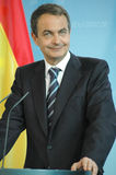 Jose Luis Rodriguez Zapatero Royalty Free Stock Photo