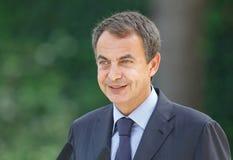 Jose Luis Rodriguez Zapatero headshot Fotografia Royalty Free