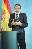 Jose Luis Rodriguez Zapatero Stock Image