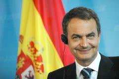 Jose Luis Rodriguez Zapatero Royalty Free Stock Photos