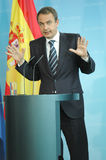 Jose Luis Rodriguez Zapatero Stock Photography