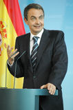 Jose Luis Rodriguez Zapatero Royalty Free Stock Photography