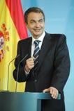 Jose Luis Rodriguez Zapatero Stock Photos