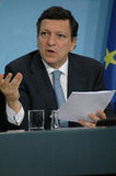 Jose Manuel Barroso στοκ φωτογραφίες