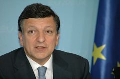 Jose Manuel Barroso Royalty Free Stock Image