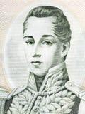 Jose Maria Cordova-Porträt Lizenzfreie Stockfotos