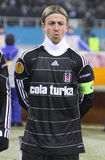 Jose Maria Gutierrez Hernandez (Guti) of Besiktas Royalty Free Stock Image