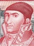 Jose Maria Morelos portrait Royalty Free Stock Photo